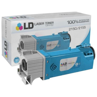 LD Compatible Toner to Replace Dell THKJ8 / 331-0716 High Yield Cyan Toner Cartridge for your Dell 2150 & 2155 Color Laser Printers