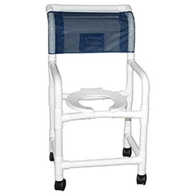 MJM International E118-3TWB-F Echo Shower Chair 18 in.