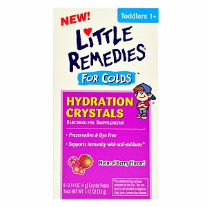 LITTLE REMEDIES® FOR COLDS HYDRATION CRYSTALS NATURAL BERRY FLAVOR