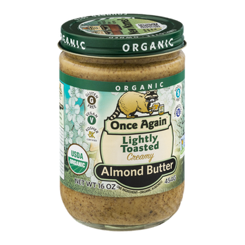 Once Again Lightly Toasted Almond Butter Creamy