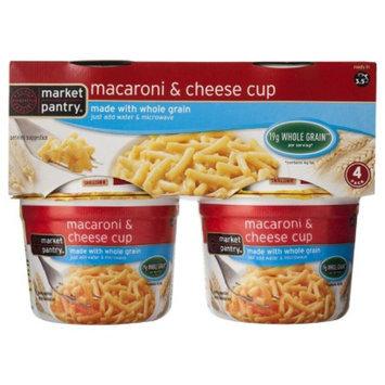 market pantry Market Pantry Whole Grain Macaroni & Cheese Cup 4 ct