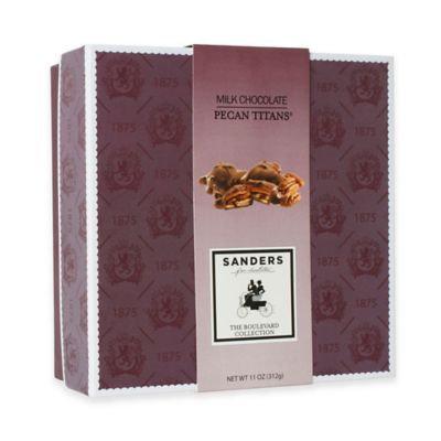 Sanders Milk Chocolate Pecan Titans Box
