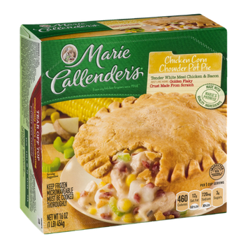 Marie Callender's Chicken Corn Chowder Pot Pie