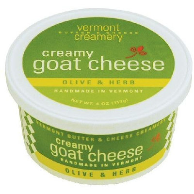 Vermont Creamery Creamy Goat Cheese Olive and Herb by Gourmet-Food