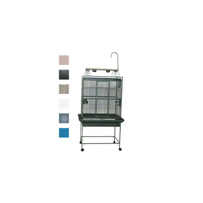 A E Cage Company Large Play Top Bird Cage Color: Sandstone