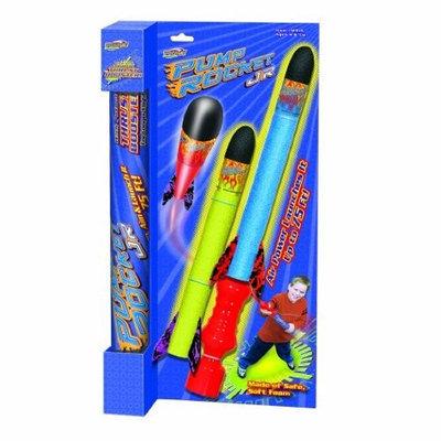 Geospace Pump Rocket Jr. Boxed Set with 2 Rockets