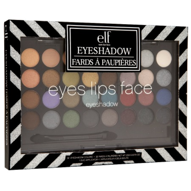e.l.f. 32 Piece Eyeshadow Set, 1 set