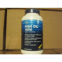 GNC Fish OIL 180 Softgels OIL Lemon Flavor