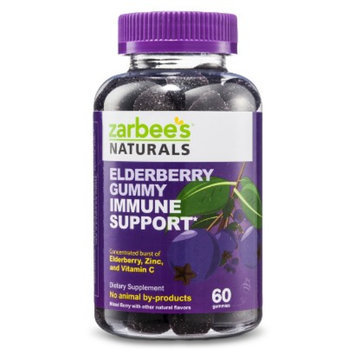 Zarbee's Naturals Elderberry Gummy Immune Support Berry - 60 Count