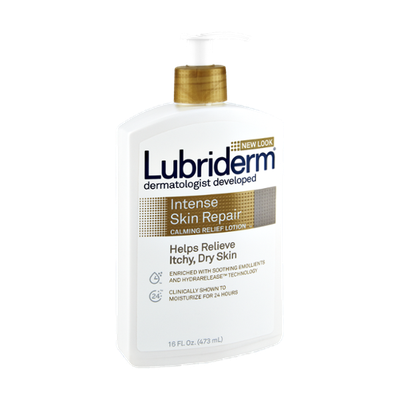 Lubriderm Dermatologist Developed Intense Skin Repair Calming Relief Lotion