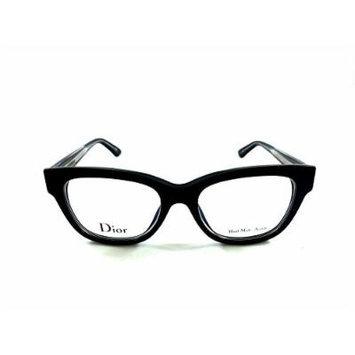 Christian Dior Montaigne 06 G2B Black Crystal Prescription Eyewear Frames