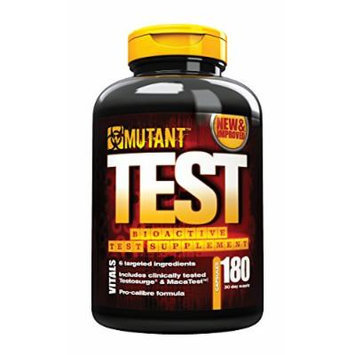 Mutant, Bioactive Test Supplement Clinically Proven To Boost Test, 180 Capsules