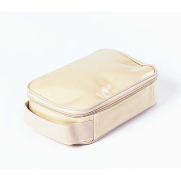 Clava 885016TAN Wellie Small Toiletry-Cosmetic Case - Tan