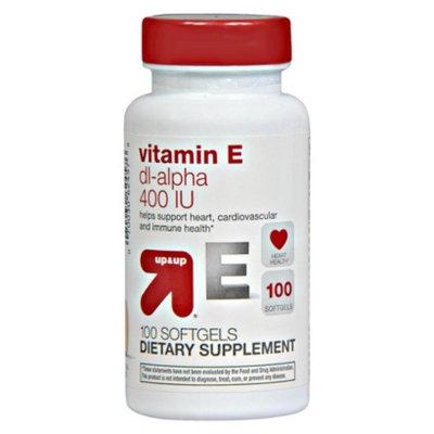 up & up up&up Vitamin E dl-Alpha 400 iu Softgels - 100 Count