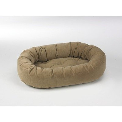 Bowser Donut Dog Bed Size: X-Small, Color: Cashew
