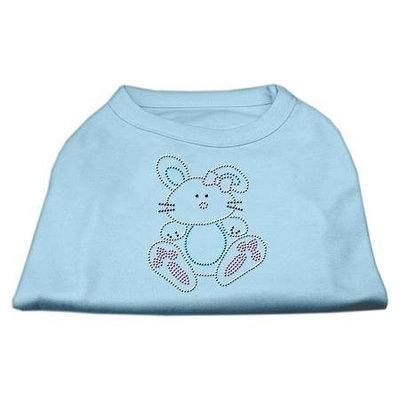 Ahi Bunny Rhinestone Dog Shirt Baby Blue XXXL (20)