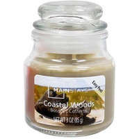 Mainstays 3 oz Candle, Coastal Woods