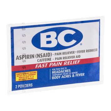 BC Aspirin Powders - 2 CT