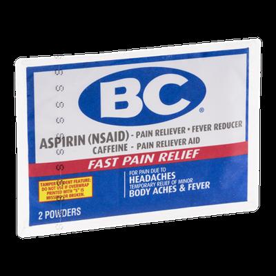 BC Aspirin Powders - 2 CT