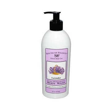 South of France Body Wash,Lavender 16 oz