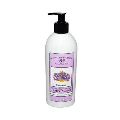 South of France Body Wash,Lavender 16 oz