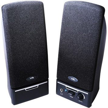 Cyber Acoustics Amplified Computer Speaker System, Black CA-2012RB