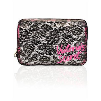 Victoria's Secret Clear Lace Cosmetic Case
