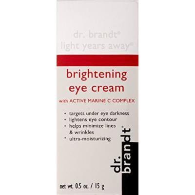Brandt Light Years Away Brightening Eye Cream with Active Marine C Complex 0.5 Oz Nib