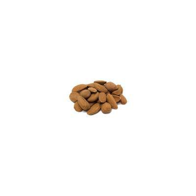 Organic Almonds Raw No Shell 1 lb Bag