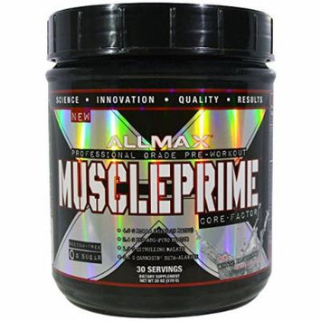 Muscle Prime 30 Serv White Raspberry