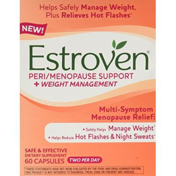 Estroven Peri-Menopause Support+weight, 60 Count