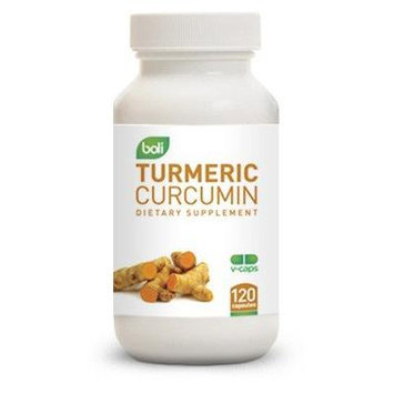 New Turmeric Curcumin - 100% Natural Antioxidant - Powerful Best Anti-inflammatory in 120 Veggie Capsules