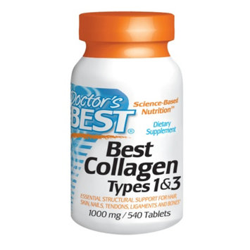 Doctor's Best Collagen Types 1&3 1000mg, Tablets, 540 ea