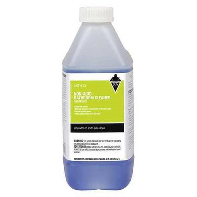 Tough Guy Non-Acid Bathroom Cleaner, For Use With Tough Guy Closed Loop System, 1 EA Model: 38TH13