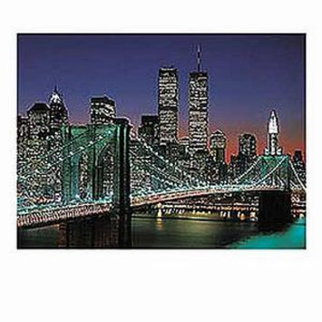 Ravensburger New York City Brooklyn Bridge and Manhattan Jigsaw Puzzle ages 12+