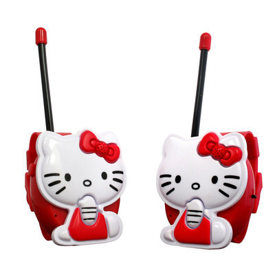 Hello Kitty Bracelet Walkie Talkie Set