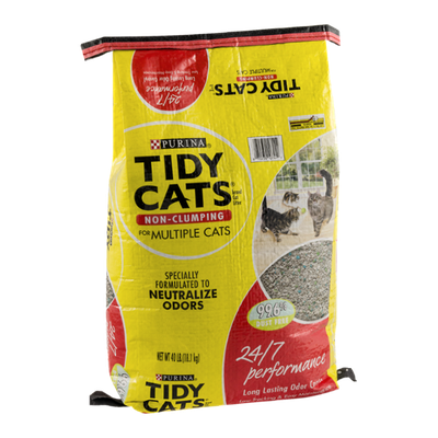 Purina Tidy Cats Non-Clomping Cat Litter For Multiple Cats 24/7 Performance