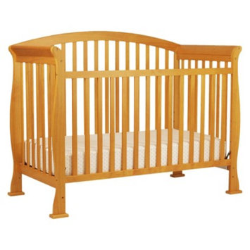 Davinci Thompson 4-in-1 Convertible Crib with Toddler Rail in Oak