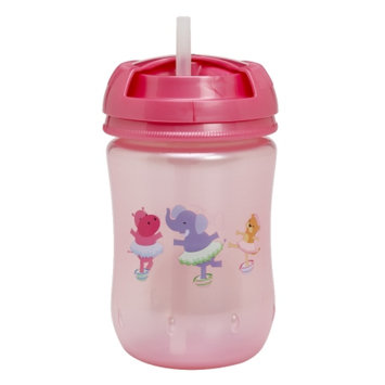 Dr. Brown's Straw Cup, 10 oz, Pink, 1 ea