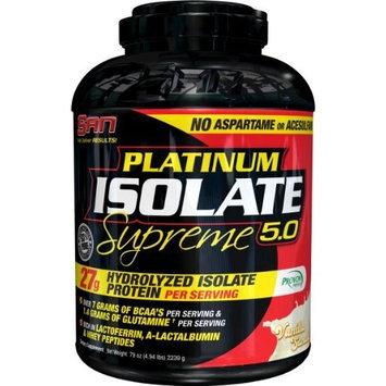San Nutrition SAN Platinum Isolate Supreme, Vanilla Sundae, 2 Pound