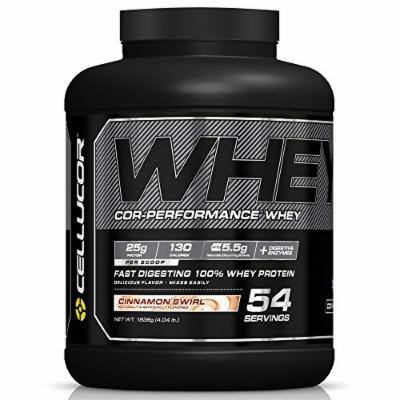 Cellucor Cor-Performance 100% Whey Protein Powder with Whey Isolate, Cinnamon Swirl/G4, 4.04 Pound