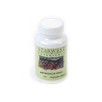 Astragalus Root - Starwest, 100 Vegetable Capsules, Sw498218-06
