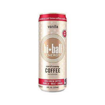 Hi*ball Energy 8 Oz (Pack of 12) (Vanilla)