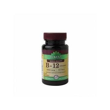 Finest Nutrition Vitamin B12 1000mcg, Tab 60