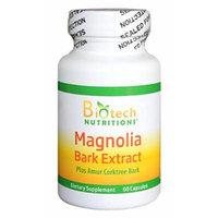 Biotech Nutritions Magnolia Bark Extract Plus Amur Corktree Capsules, 60 Count