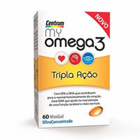 Centrum My Omega 3 Triple Action 60 Tablets