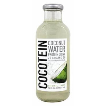 Nature's Best - Cocotein Coconut Water Protein RTD Original Flavor - 16 oz(pack of 2)