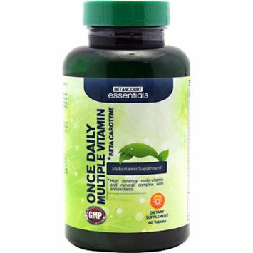 Betancourt Nutrition Once Daily Multiple Vitamin plus Beta Carotene -- 60 Tablets