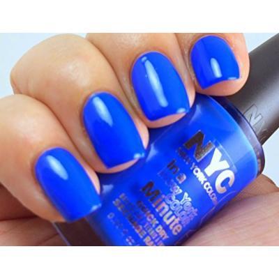 NYC Nail Polish 008 Ocean Blue