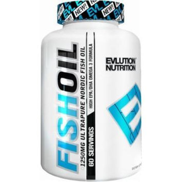 Evlution Nutrition Fish Oil 60 Count